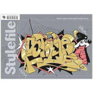 Stylefile #54 Magazin Ghettofile