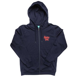 MONTANA CANS ZIP HOODY TAG BY SHAPIRO - Navy M