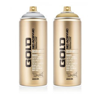 Montana GOLD 400ml Spraydose Metallic Colors