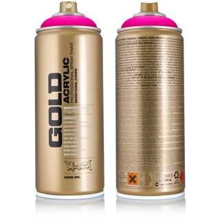 Montana GOLD 400ml Spraydose Fluorescent Colors