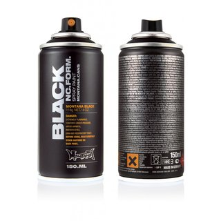 Montana BLACK 150ml Pocket Spraydose