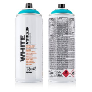 Montana WHITE 400ml Spraydose
